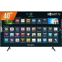 """Smart TV NU7100 40"""" UHD 4K, HDR Premium, Plataforma Tizen, Espelhamento de tela, 3HDMI 2USB"""