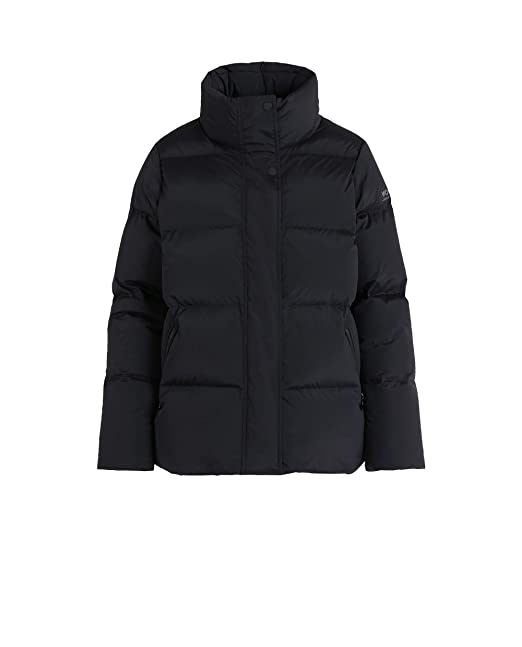 Woolrich Mujer Wwcps2624pd40100 Negro Poliamida Plumífero ...