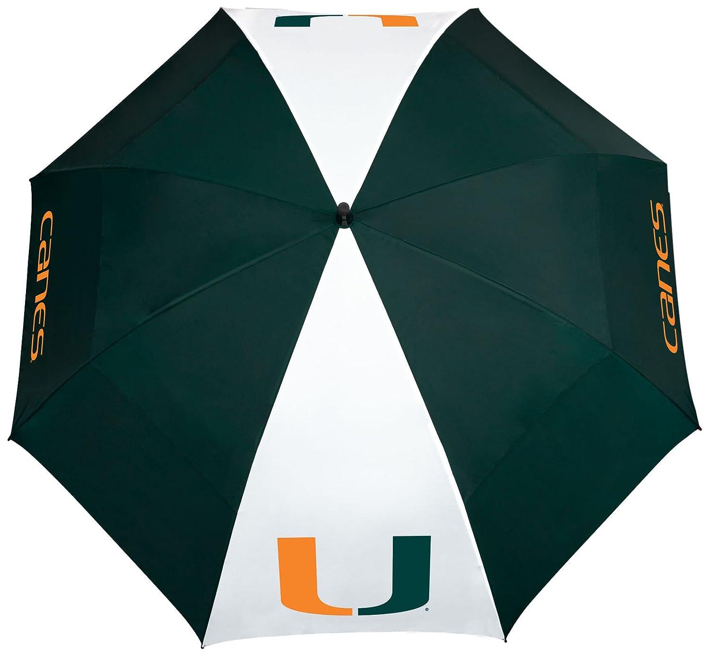Team Effort Miami Hurricanes Windsheer Lite Umbrella