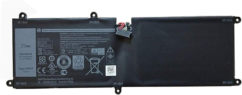 Dentsing 35Wh VHR5P Battery for Dell Latitude 11 5175 5179 XRHWG 0XRHWG RHF3V Tablet Series