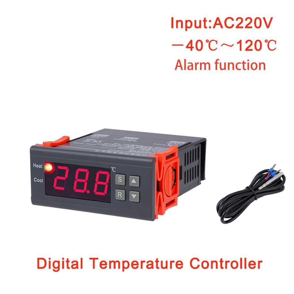 MH1210B AC220V Digitale Termostato Elettronico di controllo di temperatura Tabella Refrigerazione Riscaldamento Regolatore termoregolatore Topker