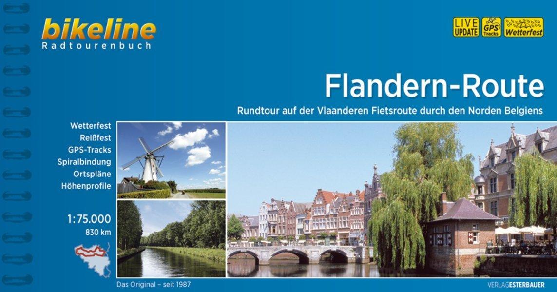 Flandernroute Rundtour Durch Den Norden Belgiens: BIKE.BE.05 pdf