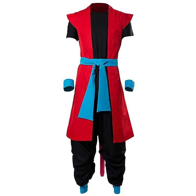 Super Dragon Ball Heroes Kakarot Zeno Son Goku Cosplay Costume Custom Made