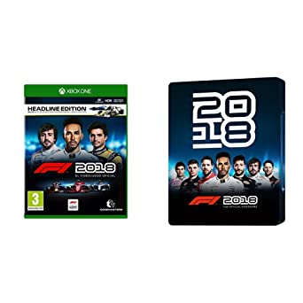 F1 2018 Headline Edition + Steelbook (Xbox One)
