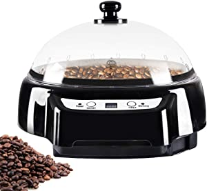 JIAWANSHUN Coffee Roaster Machine Home Coffee Bean Roaster with 1-60min Time Control 240? Constant Temperature (110V)