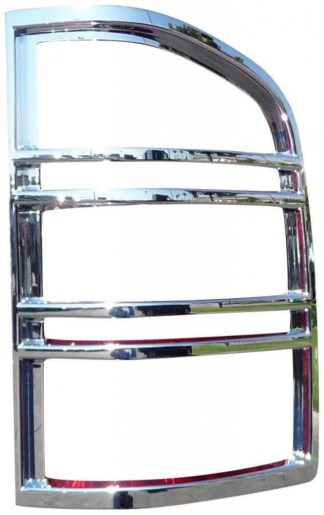 TFP 380D Chrome ABS Taillight Insert Accent