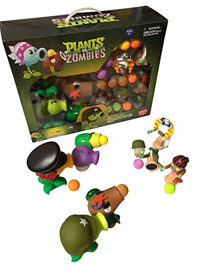 Plants vs Zombies Large Package Set with Sound and Light - 5 Plants + 3 Zombies