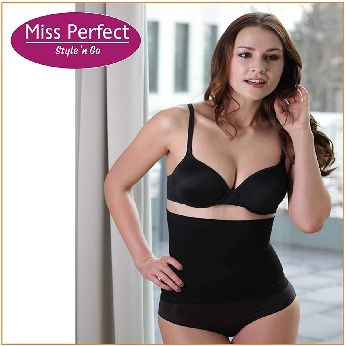 Body Shaper Damen Korsett Waist Trainer Korsage Damen Taillenformer Bauchweg S-XXL figurformend Miss Perfect Shapewear Damen