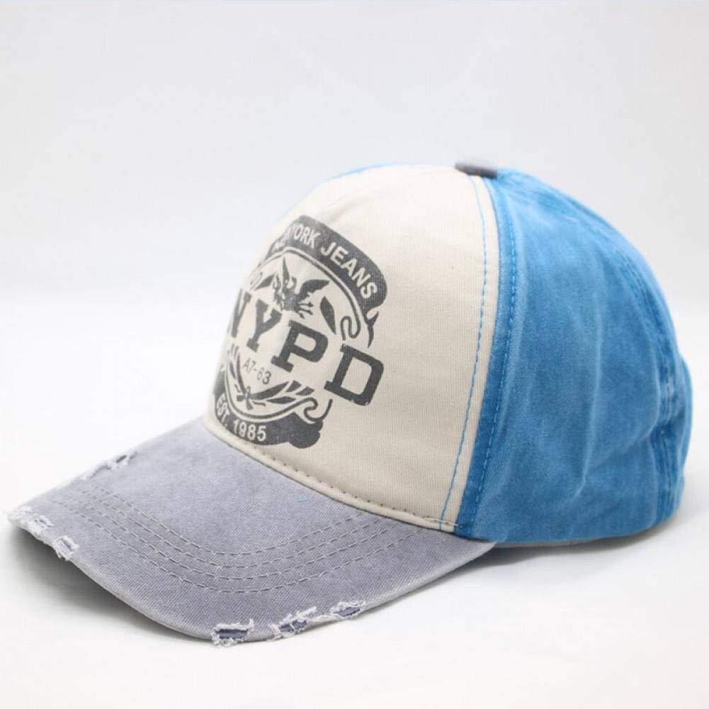 ZSOLOZ Baseball Caps Summer/& Autumn Casual Cotton Women And Men Letter Printed Snapback Baseball Caps Adjustable Hat