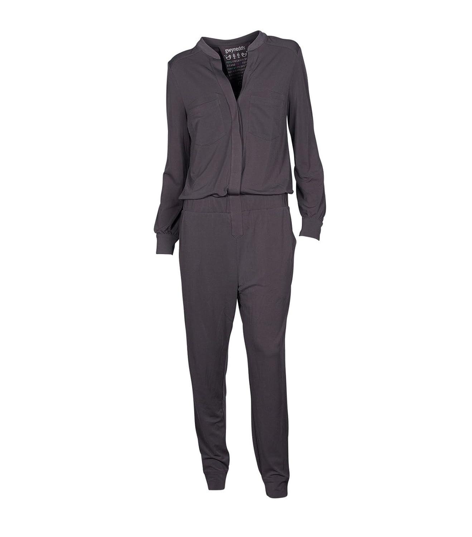 GWYNEDDS Damen Jumpsuit Overall Hosenanzug - beige