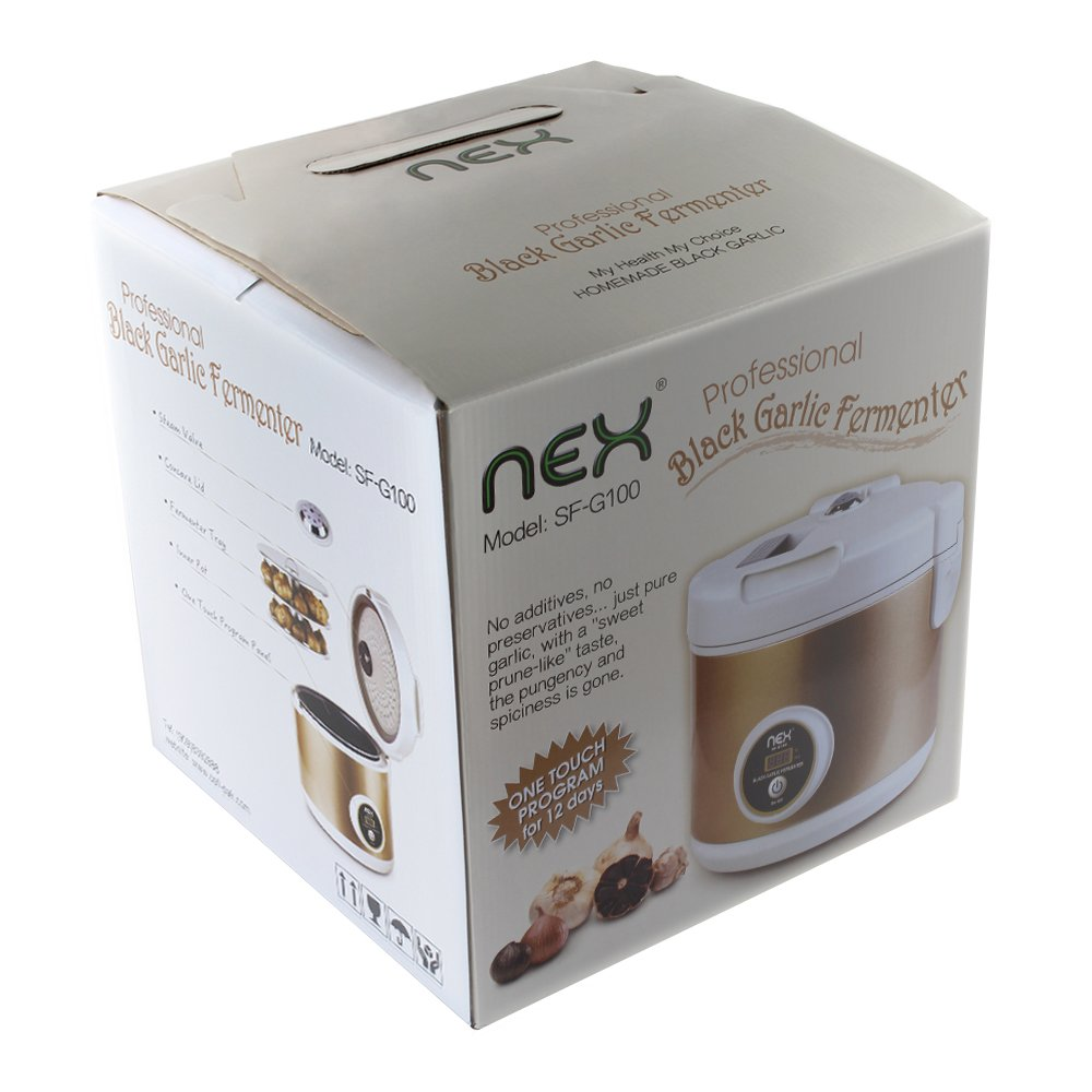 NEX HT-KF20 black Garlic Fermenter, Gold by NEX (Image #6)