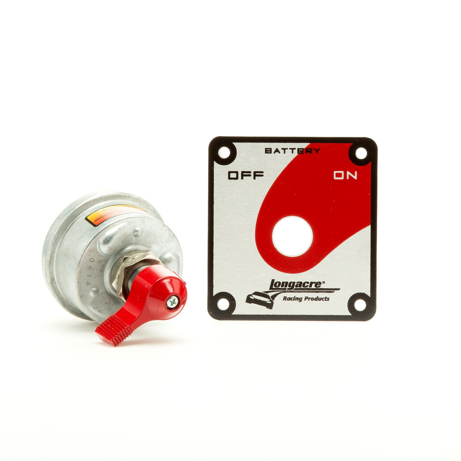 Longacre 45785 Heavy Duty Battery Disconnect with Panel
