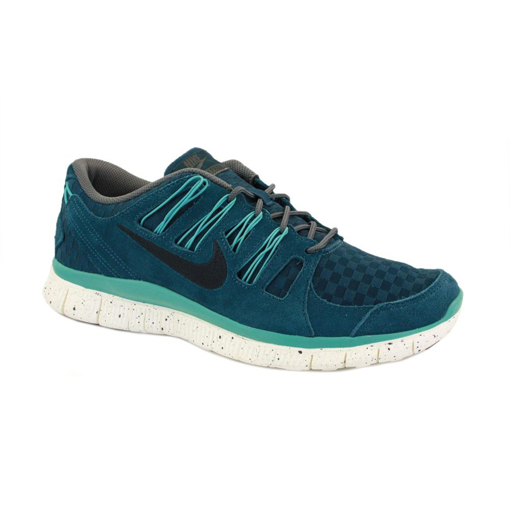 580531 303 Nike Free 5.0+ EXT Woven Turquoise 45,5 US 11,5