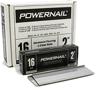 "product image for Powernail 16 Gage 2"" Cleats. Box of 5,000"