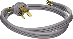 New GE Universal 3 Wire 40amp Range Cord, 4-Feet WX09X10006