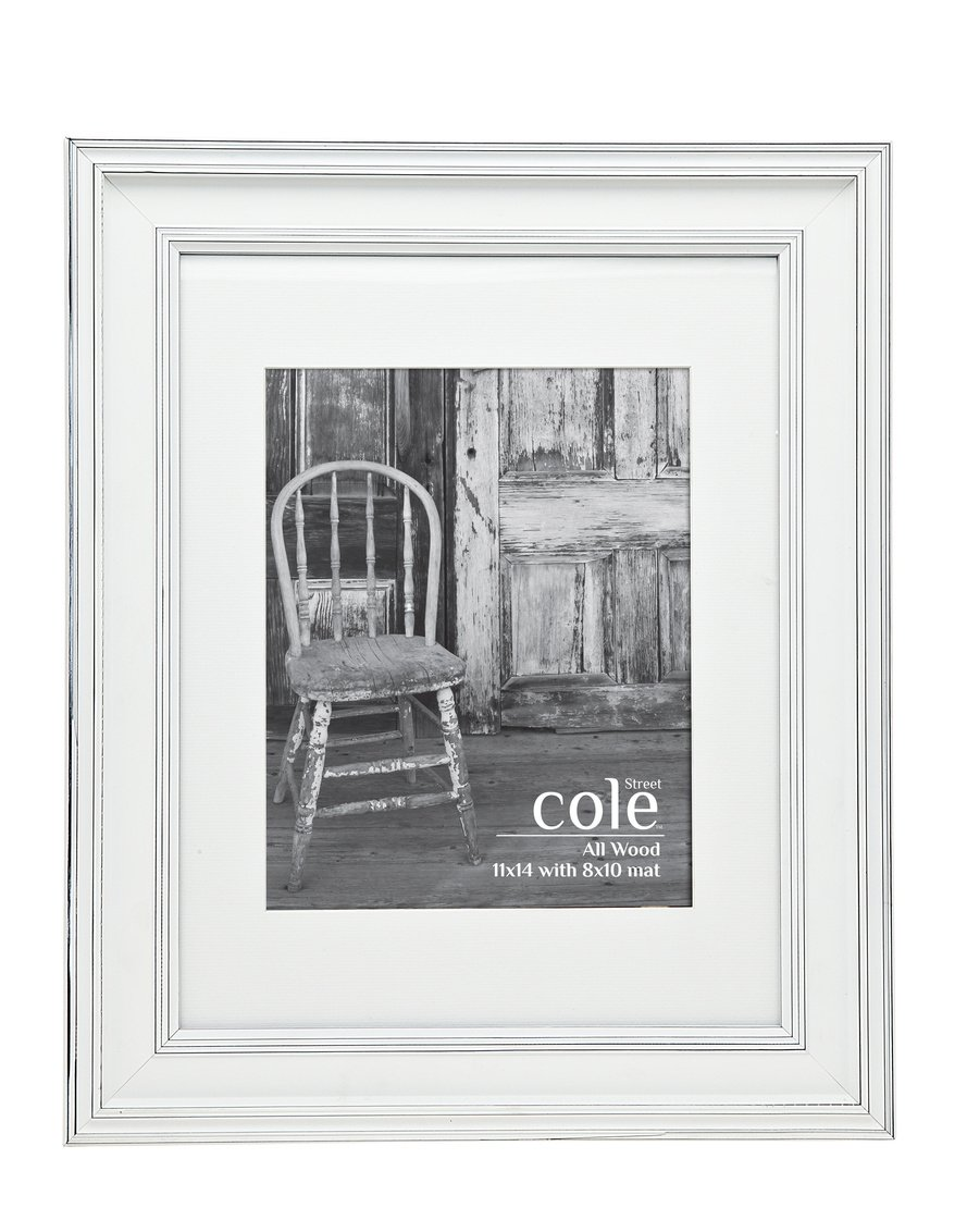 Amazon.com - Philip Whitney Distressed White Picture Frame 11x14 ...