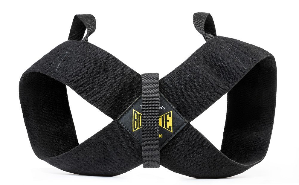 Spud Casual Bowtie Posture Support Brace Corrector No Rounded Shoulders Donnie Thompson (Large: 185 lbs. – 225 lbs.)
