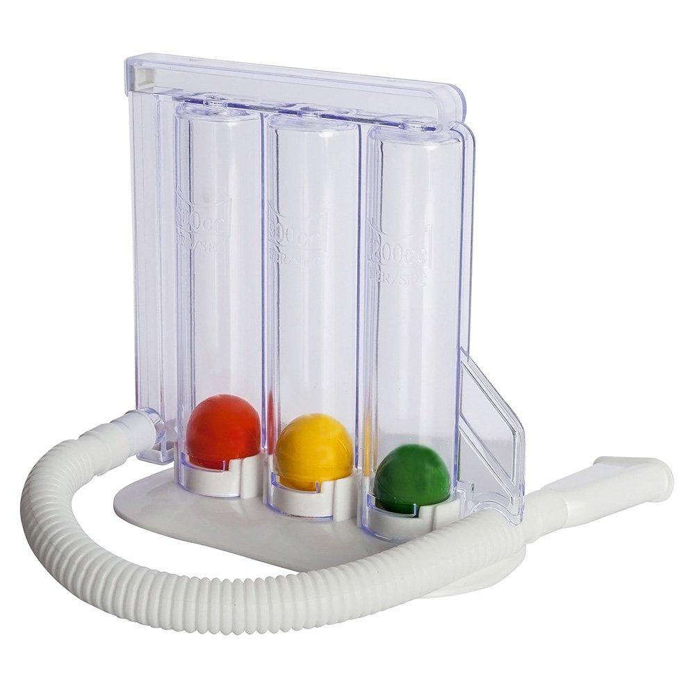 HealthAndYoga(TM) Deep Breathing Exerciser - Breath Exercise Measurement System by SoulGenie