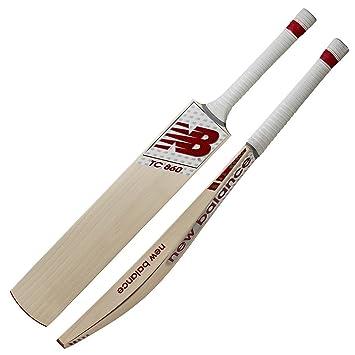 303555f91 New Balance 2018 TC860 Junior Cricket Bat - Size 5  Amazon.co.uk ...
