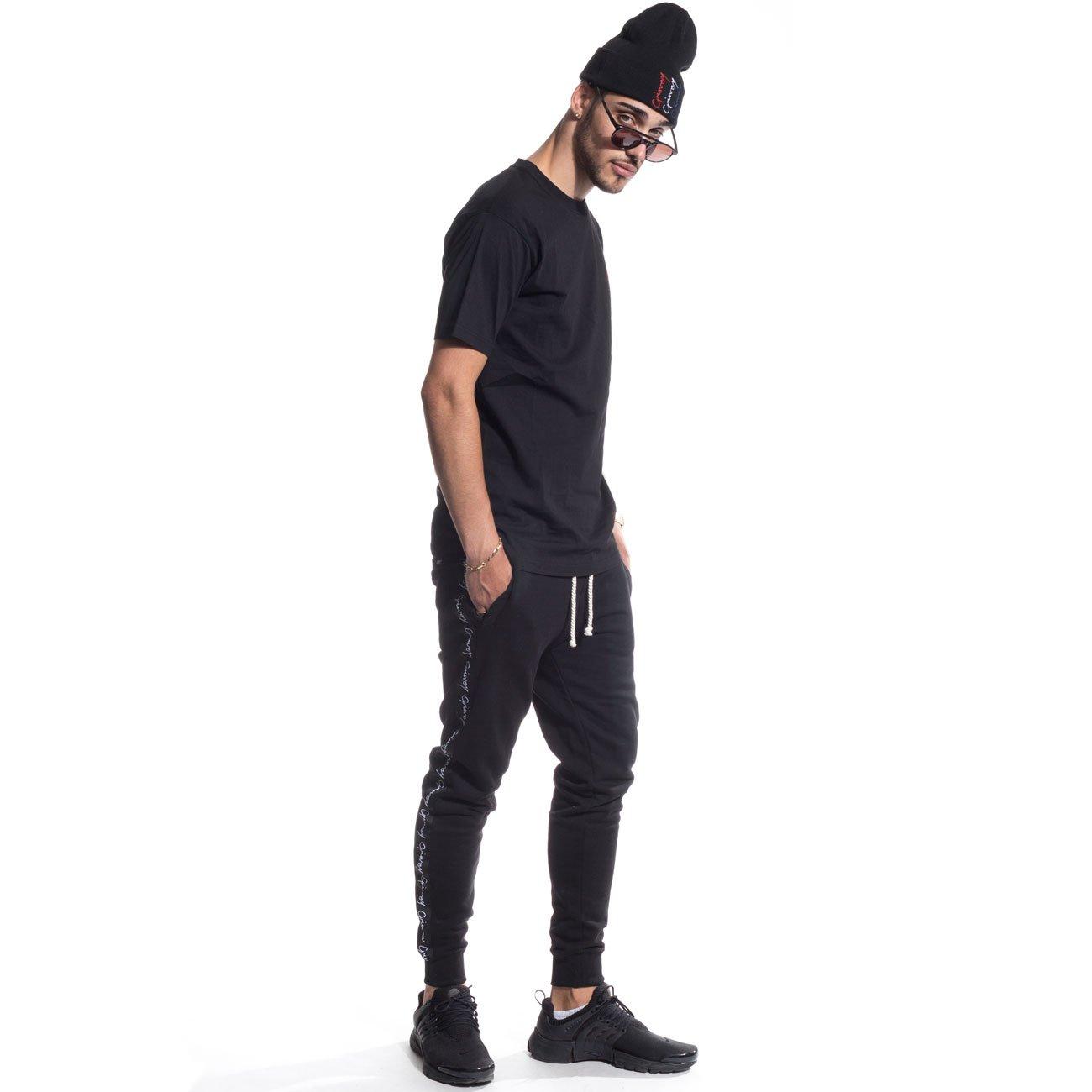 GRIMEY Pantalon Chandal Natural Sweatpants FW16 BLACK-3XL: Amazon ...