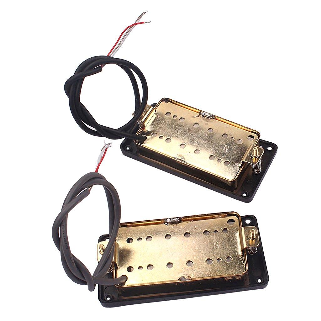 Baoblaze Soap Bar Humbucker Pickups Alnico 5 P90 For Guitar Fender Strat Wiring Harness Pickup 1v2t Way Switch 500k Pots Instrument Electric Accs Musical Instruments