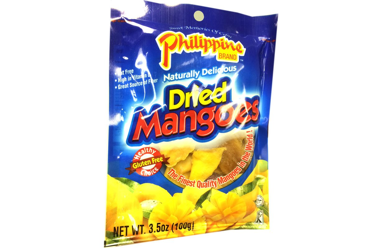 Dried Mangoes 3.5oz (Pack of 6)