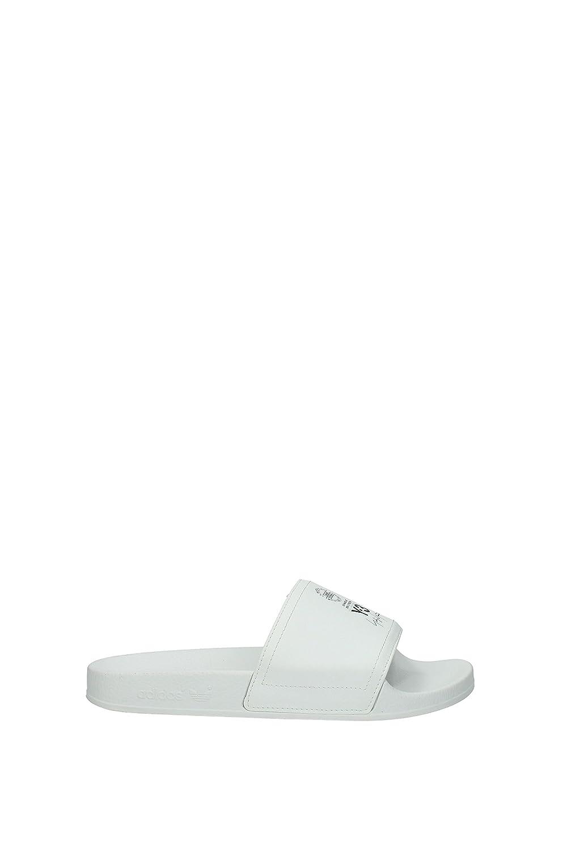 White Y-3 Adilette Sandals White