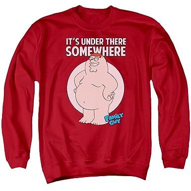 Family Guy Herren Sweatshirt Gr. XXXL, rot