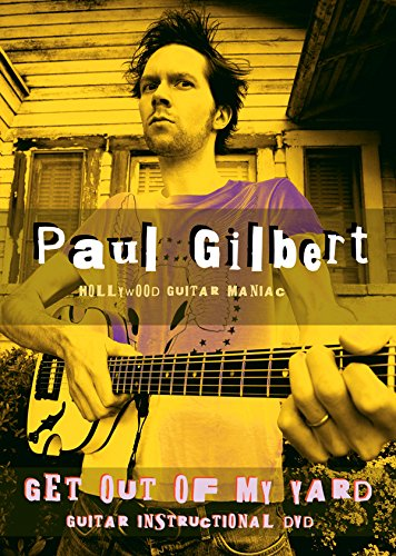 DVD : Paul Gilbert - Get Out Of My Yard (DVD)