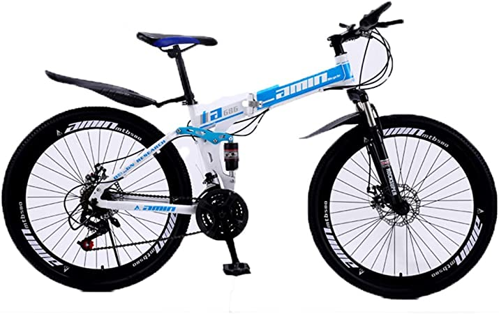 KOSGK Bicicletas Unisex Bicicleta MontañA Marco Acero 30 ...