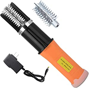 Electric Fish Scaler,Electric Fish Scale Remover, Chargeable Portable Waterproof Seafood Cleaner Tool