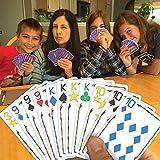 SET Enterprises Five Crowns Card Game, Purple