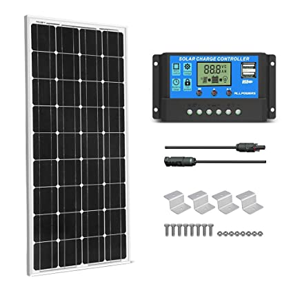 Dachdurchführung Making Things Convenient For Customers Sika 5m Kabel Halter Mppt Regler Solar Panel Set 100w
