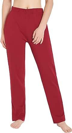 Weintee Women's Cotton Sweatpants Knit Pants with Pockets