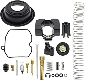 MOTOALL Carburetor Rebuild Kit for Harley Davidson CV40 27421-99C 27490-04 CV 40mm