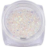 MEILIND Nail Art Rhinestones Sharp Bottom Micro Gems Shiny AB Colorful Design Mini Beads for 3D DIY Nail Decoration