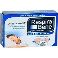 GSK Respirabene - Cerotti nasali classici, grandi, 30 pezzi