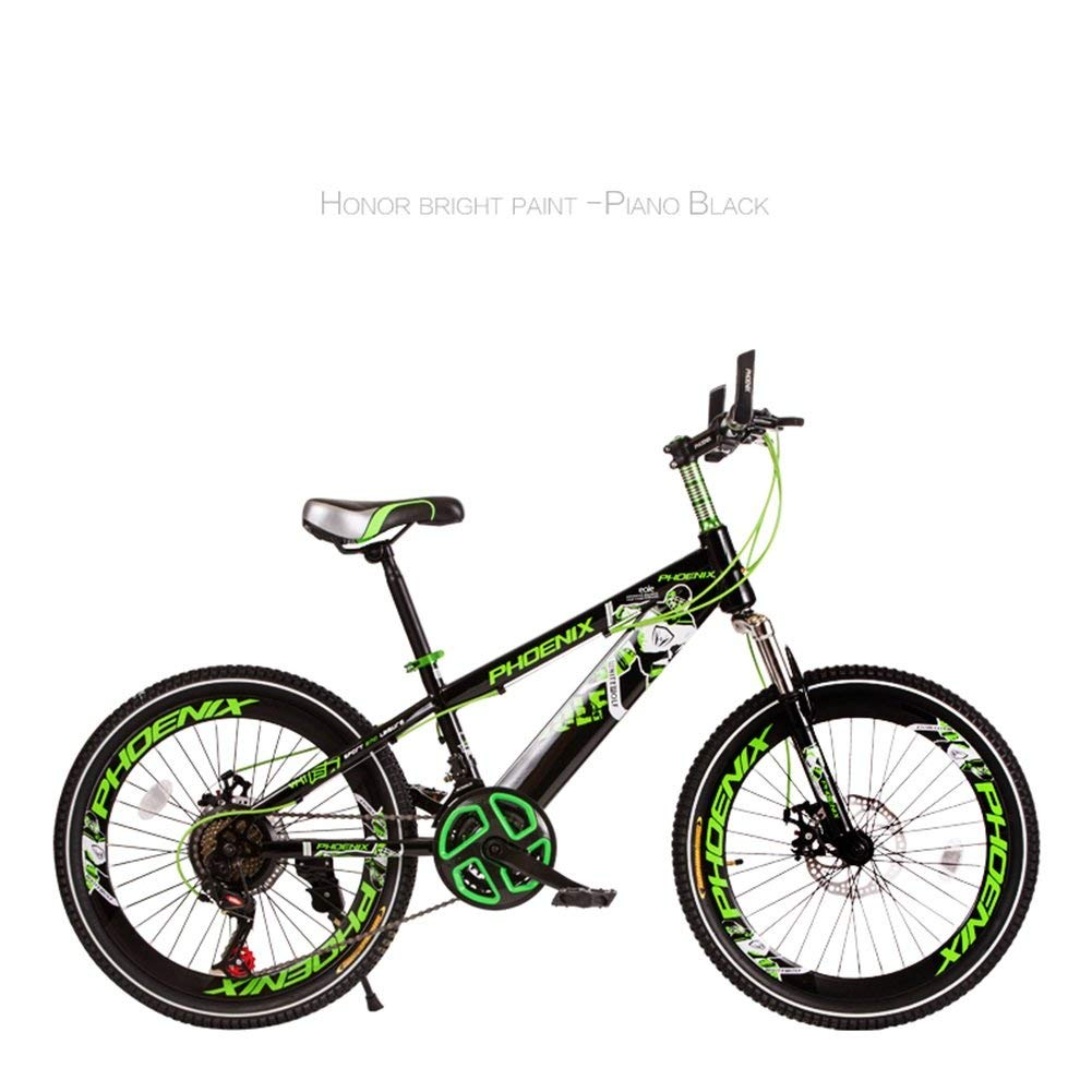 ファッション子供用自転車 TL-55子供の自転車3-13歳男の子女の子高炭素鋼子供自転車安定した可変速度耐衝撃性快適なピアノ塗装  2 B07RHB4H7G