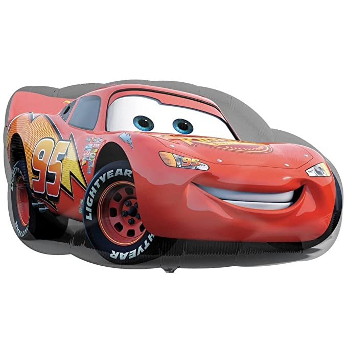 GUIZMAX Globo Cars Flash MC Queen XXL: Amazon.es: Juguetes y juegos