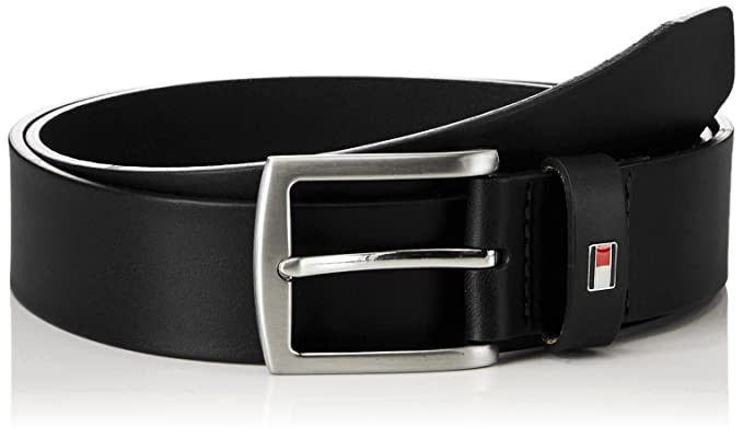 Tommy Hilfiger - New Denton 3.5 Belt - Ceinture - Homme - Noir (Noir 990 f58fb87e536