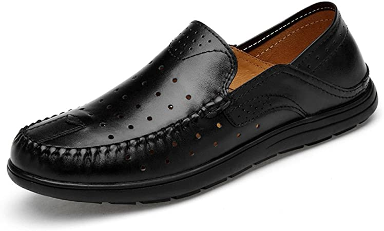 2018 Mocassins Chaussures Homme Hommes Penny Loafers Patch