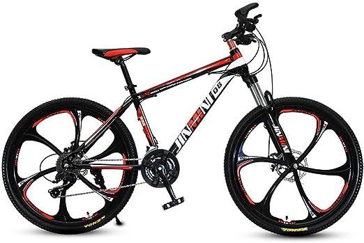 AP.DISHU Bicicletas de montaña, Absorción de Choque Freno de Disco ...