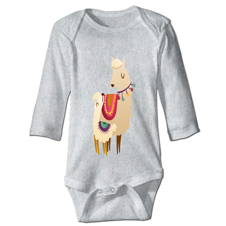 Grandkids Jumpsuit Soft Onesie Romper Comfy Bodysuit Fair Llama Creeper