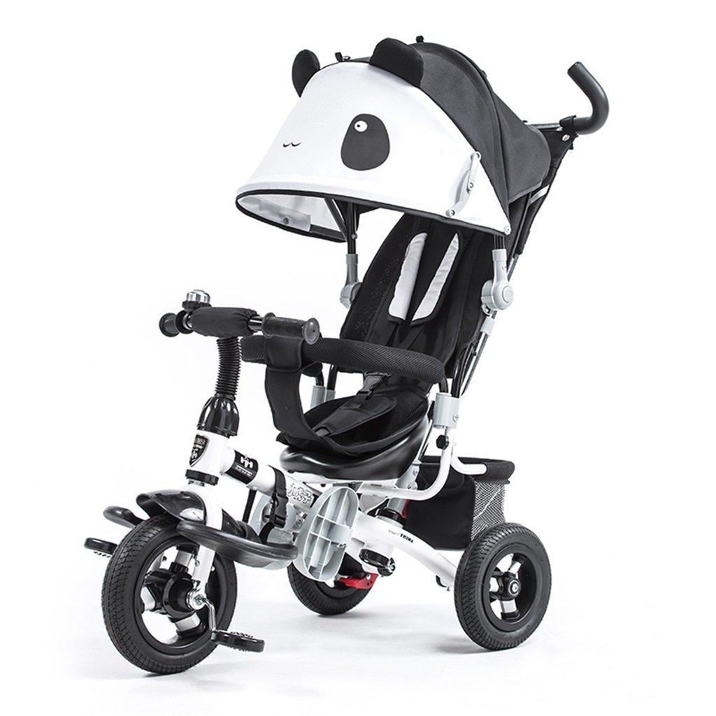 KANGR-子ども用自転車 子供用三輪車カートベビーキャリッジ子供用自転車3輪 B07CDDCPB8