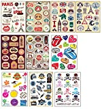 10 PCS Fixed Gear Bicycle Sticker Bikes Decorations Suitcase Sticker-02
