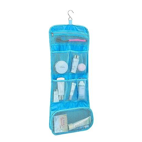 016fb14f1 BESTOMZ Paquete de Viaje Plegable para ducharse Maquillaje de Viaje Estuche  de tocador cosmético Organizador de
