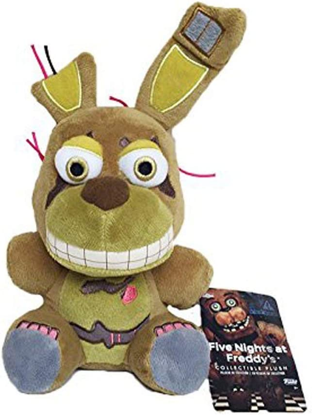7 //18cm Soft PP Cotton Stuffed Animals Doll FNAF Plushies for Collection Decoration Blue Bonnie Five Nights at Freddys Plush