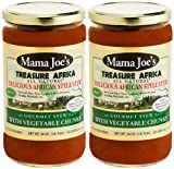 Treasure Africa Stews for Pasta, Spaghetti, Cooking Sauce - Chunky Vegetables. All Natural. Gluten Free. Ready-to-Serve. (Vegetable MILD)
