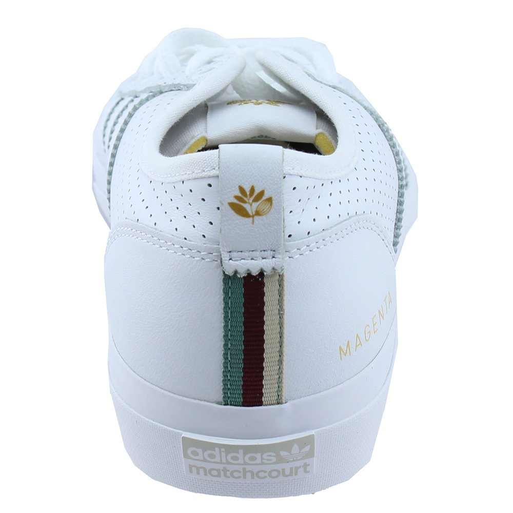 low priced e0056 39ac5 adidas x Magenta Matchcourt RX (White Gold Metallic Gum) Men s Skate Shoes   Amazon.co.uk  Shoes   Bags