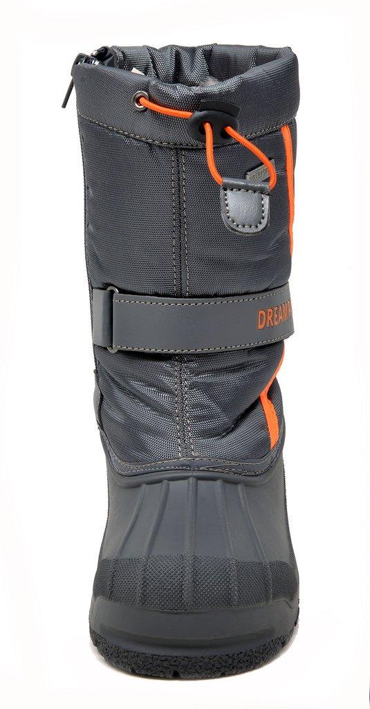 82eea17e665c Unisex-child KAMICK DREAM PAIRS Boys   Girls Toddler Little Kid Big Kid Mid  Calf Waterproof Winter Snow Boots